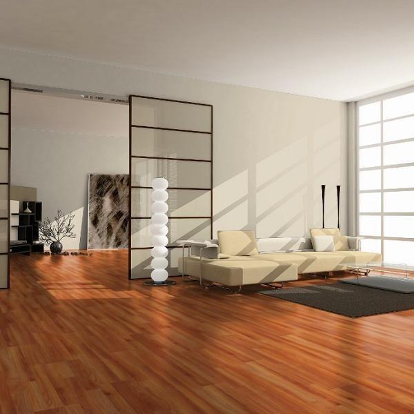 HARO Laminat Kirsche Amaro Schiffsboden 3-Stab | Tritty 75 | 9 m²