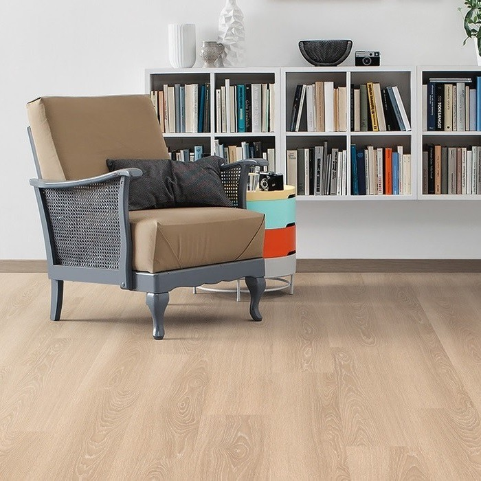 haro laminat eiche creme gekalkt authentic landhausdiele. Black Bedroom Furniture Sets. Home Design Ideas