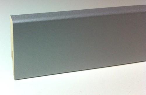 Bauhaus Sockelleiste SL 60 Aluminium Silber 18 x 60 x 2600 mm