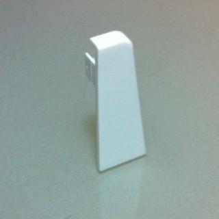 Bauhaus Weiß Endkappe Links