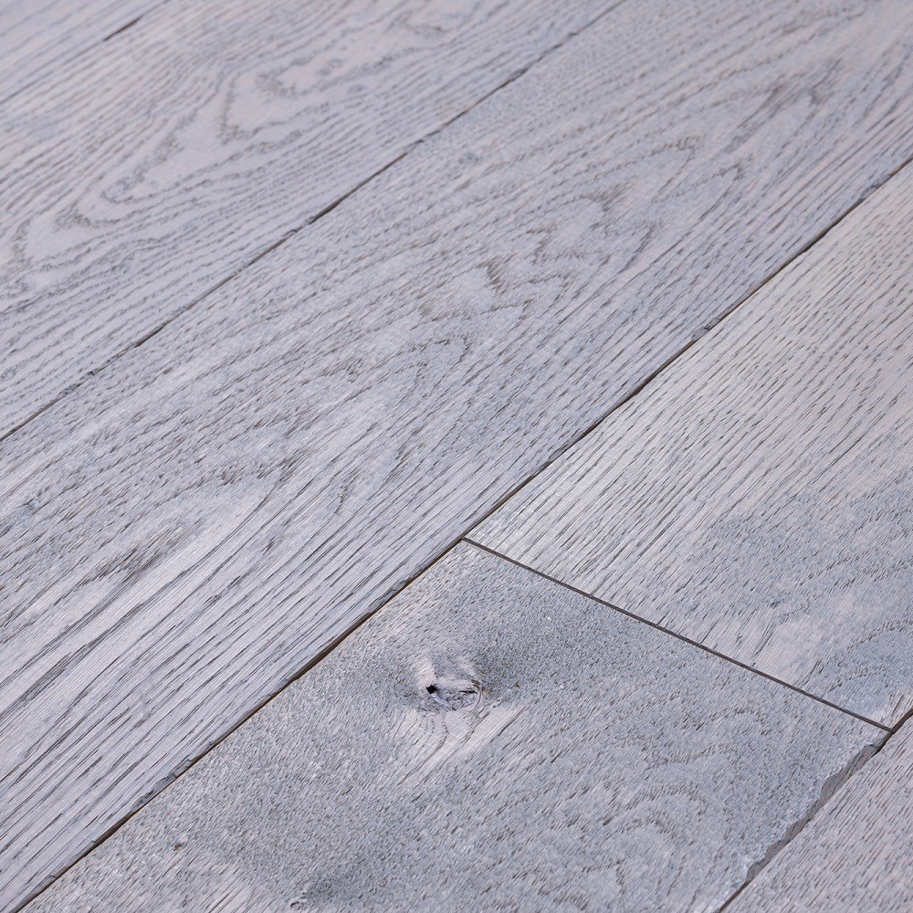 TER HÜRNE Massivholzdiele Eiche antik blau gealtert geölt | Expressive Selection | 5,5 m²