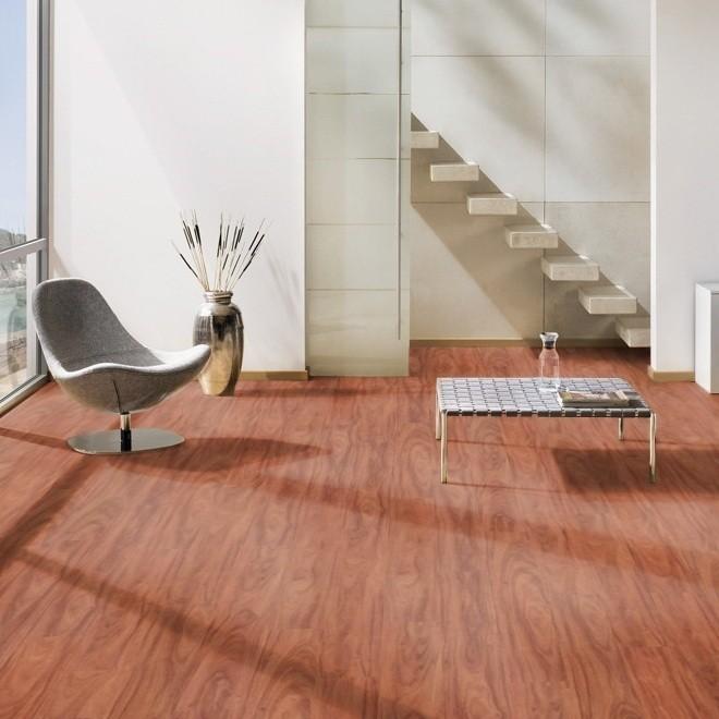 GRÜNDORF Laminat Jatoba motion Landhausdiele | Residence Sound Reduct | 22 m²