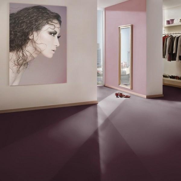 Laminat Farbdesign Aubergine gebürstet | TER HÜRNE Avatara Floor