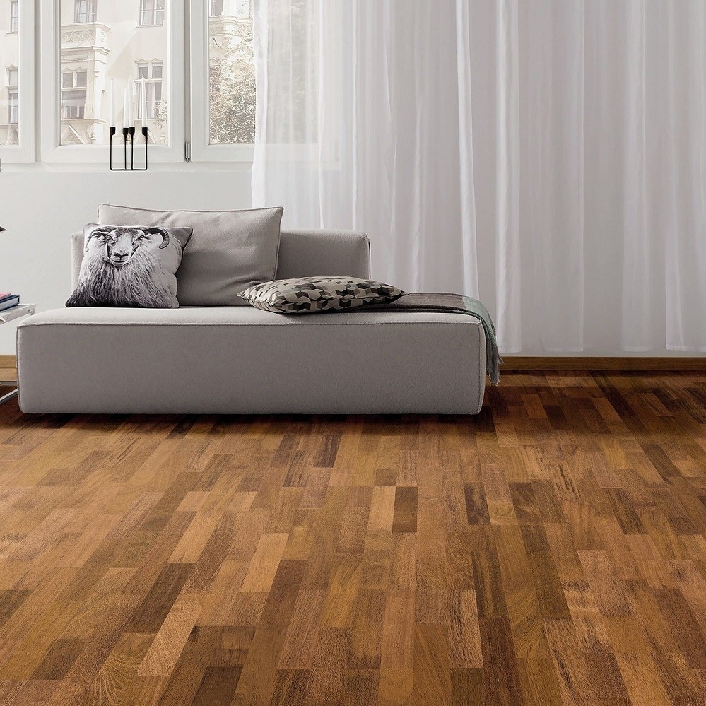 PARADOR Parkett Merbau Schiffsboden 3-Stab lackversiegelt matt | Classic 3060 | 7 m²