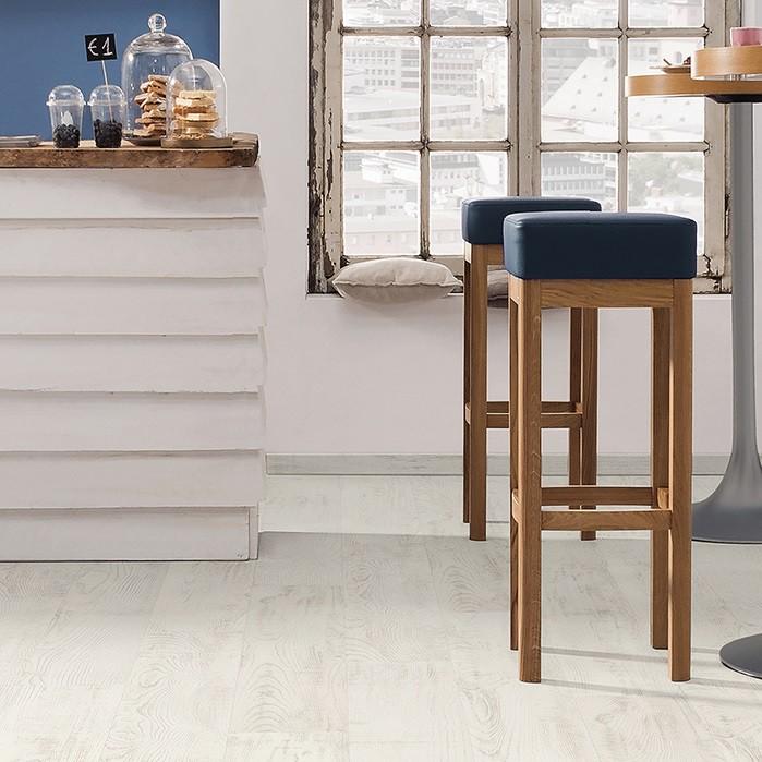 Laminat Kastanie bianco strukturiert matt Landhausdiele | Tritty 250 | 2.Wahl | 15 m²
