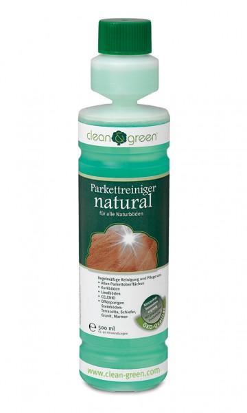 CLEAN & GREEN Reiniger natural für Parkett-, Vinyl- und Designböden 500 ml