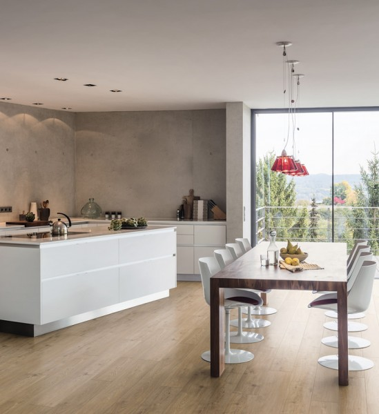 HARO Laminat Eiche Sicilia puro Landhausdiele 4V | Tritty 200 Aqua Gran Via