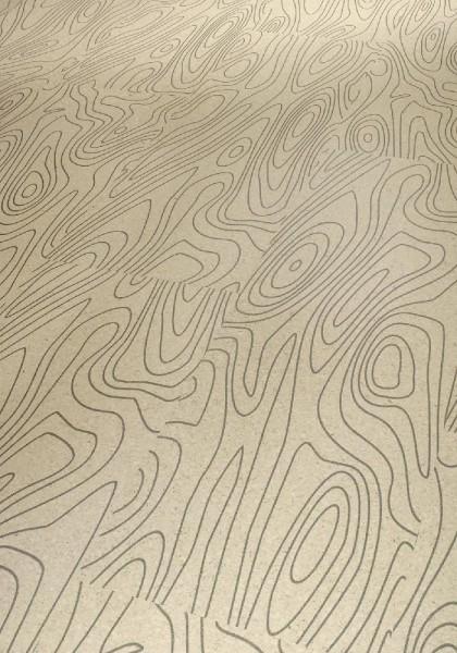 Korkboden Schulte Räume Kollektion 400 Flex schwarz auf weiss lackiert