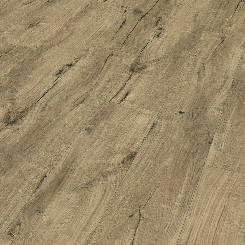 Laminat Eiche Century beige Landhausdiele 4-seitige Mini-V-Fuge | Style Collection