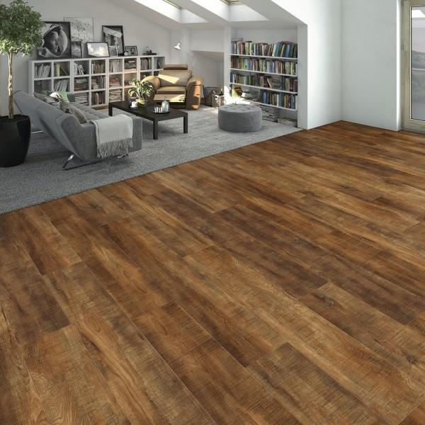 HARO Vinylboden Cottage Wood strukturiert Landhausdiele 4VM | DISANO SmartAqua