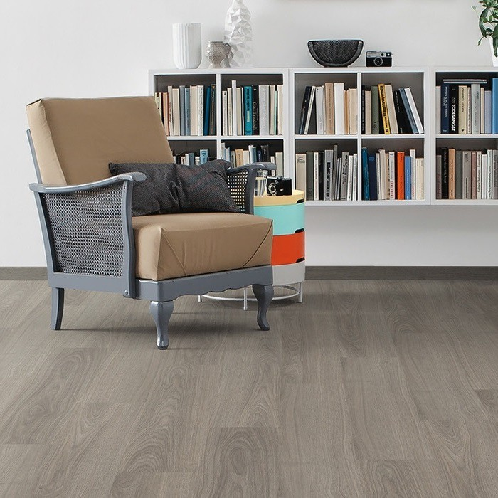 Laminat Eiche antikgrau authentic Landhausdiele | Tritty 100 | 2.Wahl