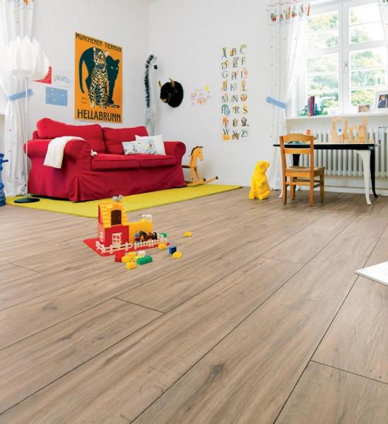 HARO Designboden Steineiche creme Landhausdiele XL | DISANO Classic Aqua