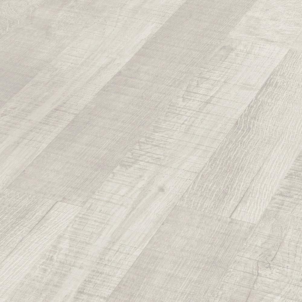 PARADOR Laminat Eiche sägerau weiß Schiffsboden 2-Stab | Basic 200 | 47 m²