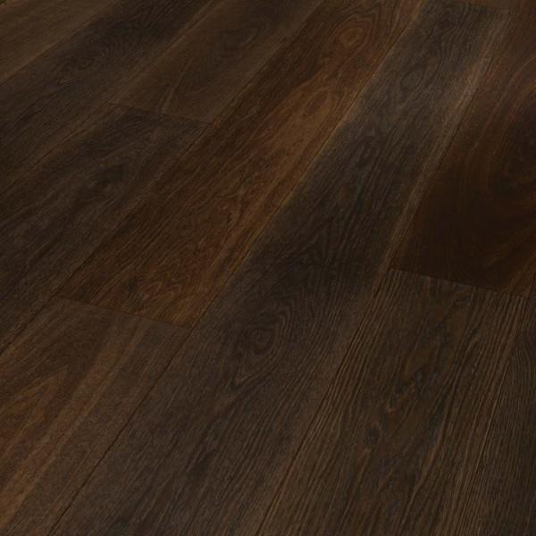TER HÜRNE Parkett Eiche deep brown Landhausdiele farbig-naturgeölt 4-seitige V-Fuge   Sonderedition