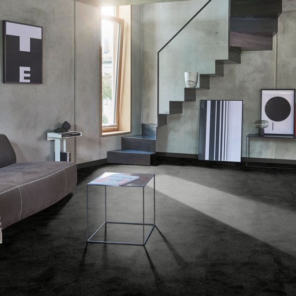 Laminat Painted black Steinstruktur 4-seitige V-Fuge | PARADOR Sonderedition